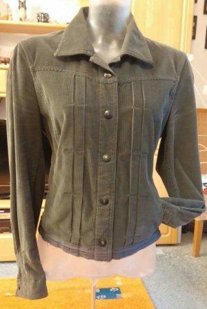 Damen Jacke Cord Blazer Gr.38 in Grau von Marc Cain TOP