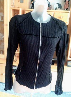 Damen Jacke fein Strick Gr.36 in Schwarz von Aldo Martin´s