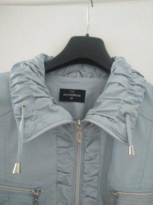 Damen Jacke Gr. 42 aus lederähnlichem Material