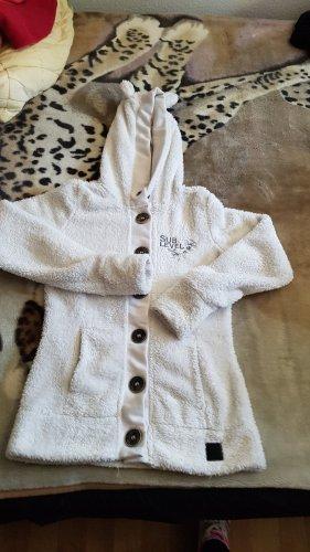 Sublevel Chaqueta con capucha blanco puro