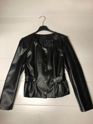 Damen Jacke Volant Gr S schwarz