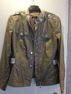 Basler Black Label Overgangsjack groen-grijs-khaki