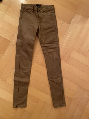 Stretch Jeans brown-olive green