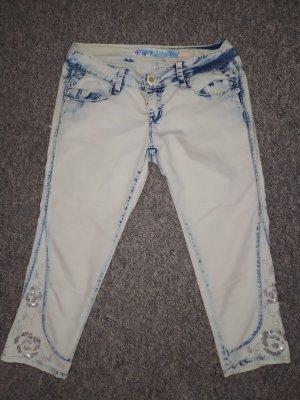 Miss Capri Jeans 3/4 multicolore