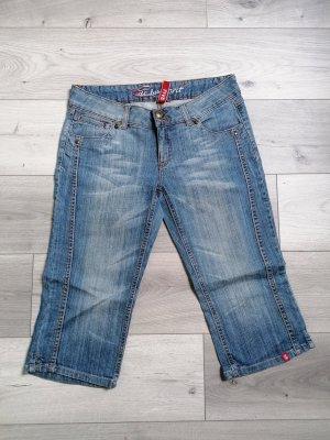 edc Jeans 3/4 bleu