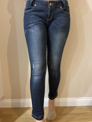 C&A Clockhouse 3/4 Length Jeans dark blue