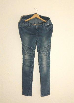 FB Sister Jeans da motociclista blu