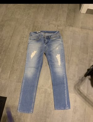 Pepe Jeans Jeans taille basse bleu clair