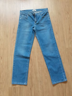 Angels Jeans vita bassa azzurro Cotone