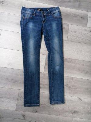 LTB Jeansy z prostymi nogawkami niebieski
