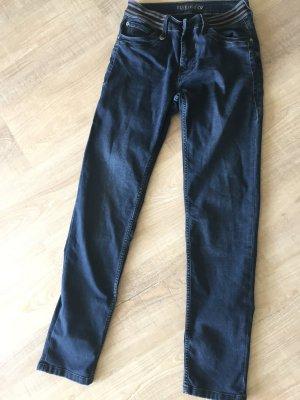 Blue Fire Skinny jeans donkerblauw Katoen