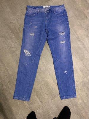 Amisu Boyfriend jeans korenblauw