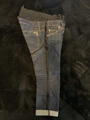 Dsquared2 Jeans vita bassa blu scuro