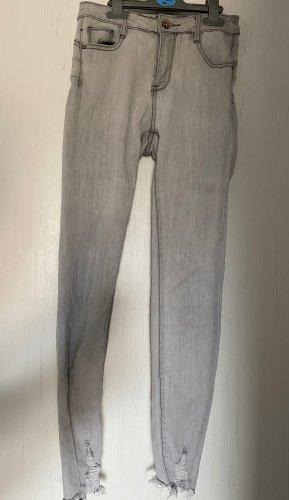 Laulia 3/4-jeans lichtgrijs