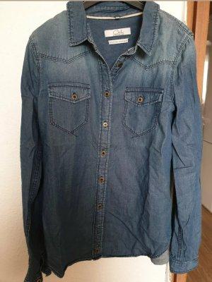 Damen Jeans Hemd