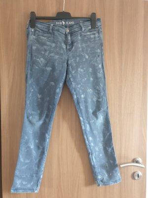 Mih jeans Vaquero estilo zanahoria azul