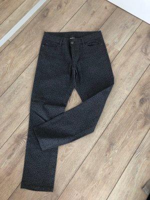 Damen jeans Hose grau