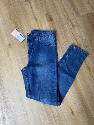 Calzedonia Tube Jeans steel blue