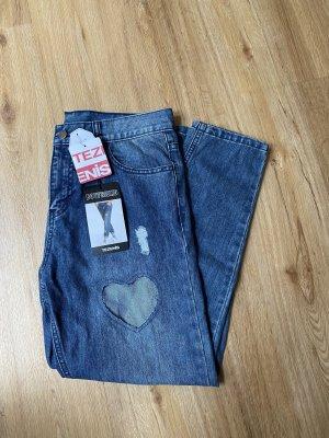 Tezenis Jeans boyfriend blu acciaio