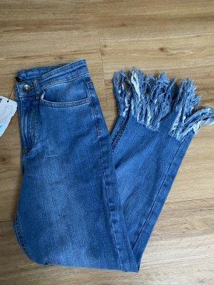 Calzedonia Jeans a 3/4 blu fiordaliso