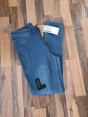 Calzedonia Jeans skinny bleu acier