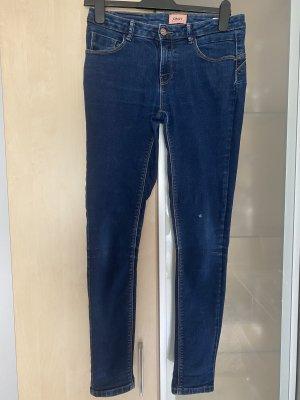 Damen Jeans Hose Only dunkelblau Gr 28 / 34