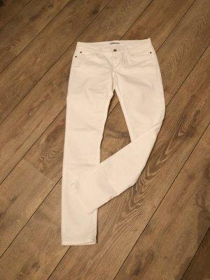 Strenesse Blue Tube Jeans white