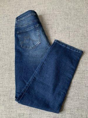 Christian MATERNE Tube Jeans multicolored cotton