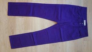 Damen Jeans lila 38 Janina Stretch Hose