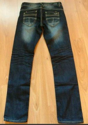 Damen - Jeans, M.O.D, NEU, Gr. W 29, L 34, dunkelblau, used, skinny