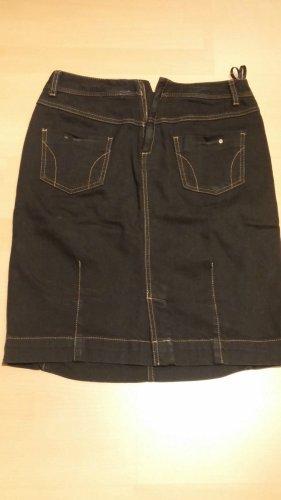 Damen Jeans Rock Stretch Stiefel Rock Gr.36 in Schwarz von Sandwich NW