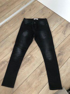 Damen Jeans schwarz