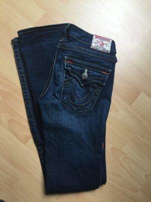 True Religion Low-Rise Trousers dark blue