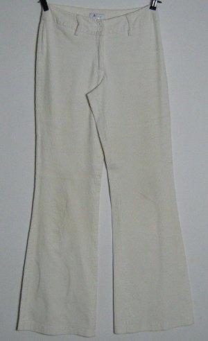 Damen Jeans Vivien Caron Größe 36 Stretchkord Creme