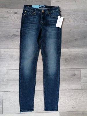 7 For All Mankind Jeans a gamba dritta blu scuro