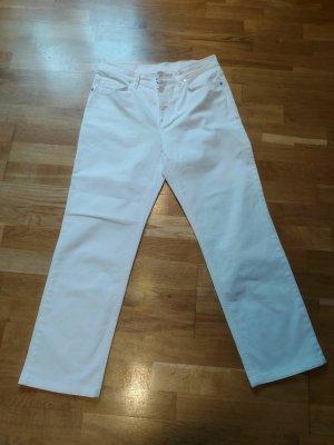 Damen Jeans von Bogner, weiss, Größe 80
