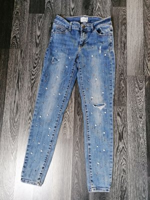 Cartoon Stretch Jeans blue