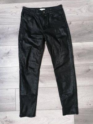 H&M Jeansy z prostymi nogawkami czarny