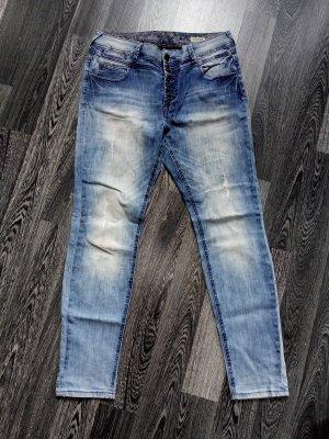Review Boyfriend Jeans blue