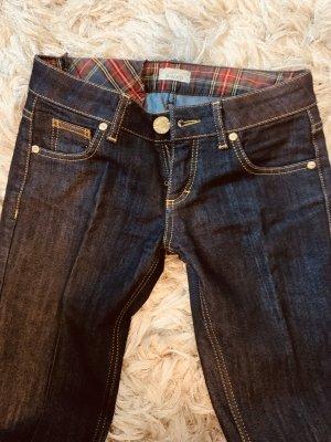 0039 Italy Pantalons Houlihan bleu foncé