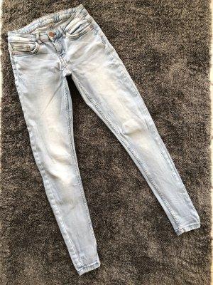 Noisy May Jeans elasticizzati azzurro