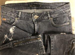 Zara Accesoires Pantalon strech gris