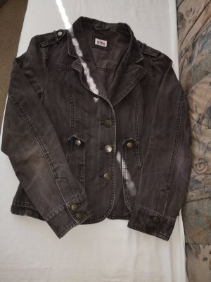 Colours of the World Denim Jacket brown cotton