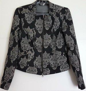 Cosima Denim Jacket dark grey-black cotton
