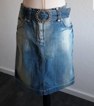 Dolce & Gabbana Denim Skirt azure
