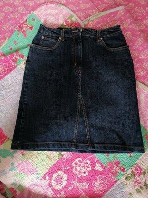 More & More Denim Skirt dark blue