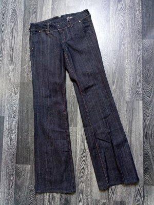 MNG Jeans Vaquero acampanados azul oscuro