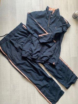 TCM Trouser Suit dark blue-pink
