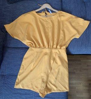 Amisu Mini Dress gold orange