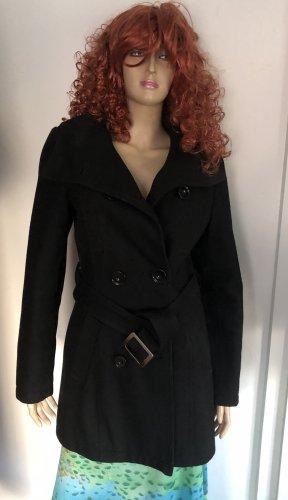 Damen Kaputzen Mantel Gr.38